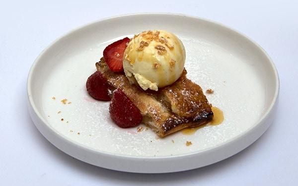 Moro resto – cuisine de qualité - 1050 Bruxelles - tartelette-fruits-et-glace